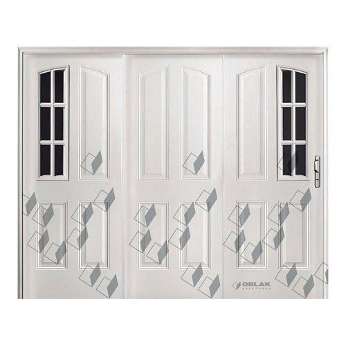 Portón Óptima exterior, mod. 2736-2748