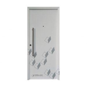 Puerta Primma Plus exterior, mod. 1700 B con barral de 0,80 cm