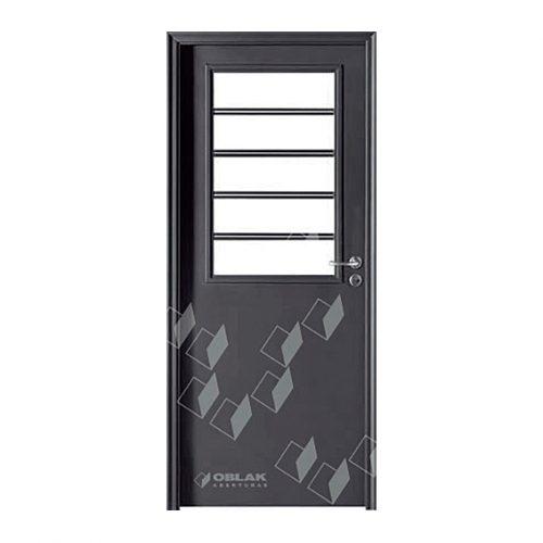 Puerta Primma Plus grafito exterior, mod. 1702 G