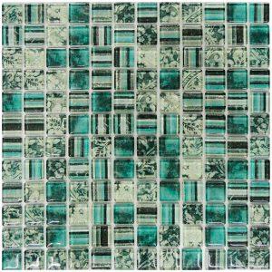Mosaico de Vidrio Broc Aqua