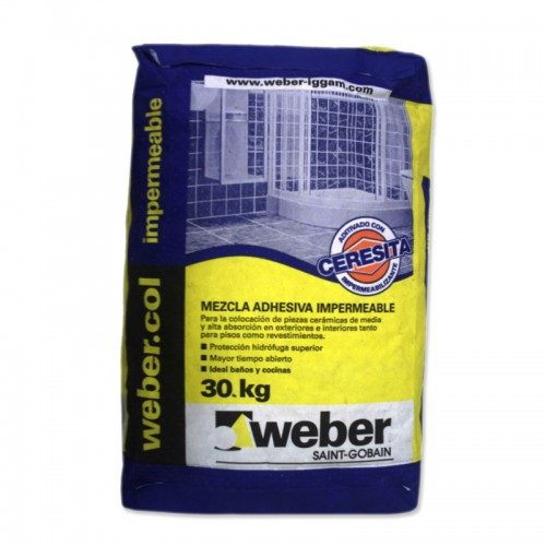 Weber Impermeable Cerámico