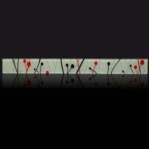 Guarda Guindas negro y rojo. Art. 3300