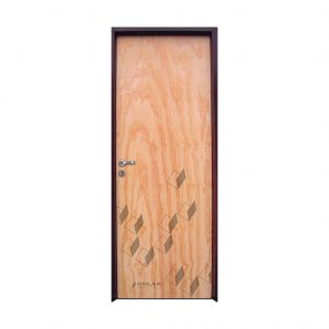 Puerta placa, mod. Klara, marco chapa.