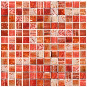 Mosaico de Vidrio Materia Roja